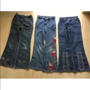 Gymboree Girl's Jeans Bundle Size 9